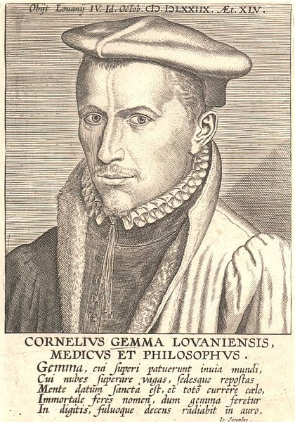 Cornelius Gemma Lovaniensis, Medicus et Philosophus