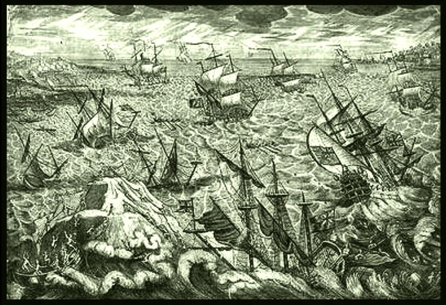 La grande tempête de décembre 1703