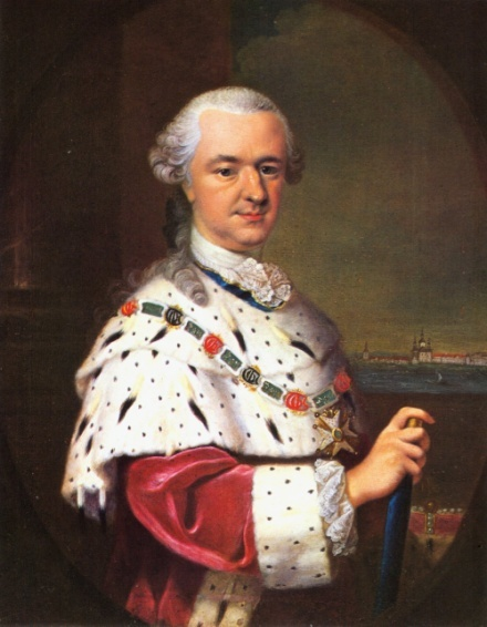 """L'Electeur Palatin Charles Théodore, fondateur de la """"Societas meteorologica palatina""""."""
