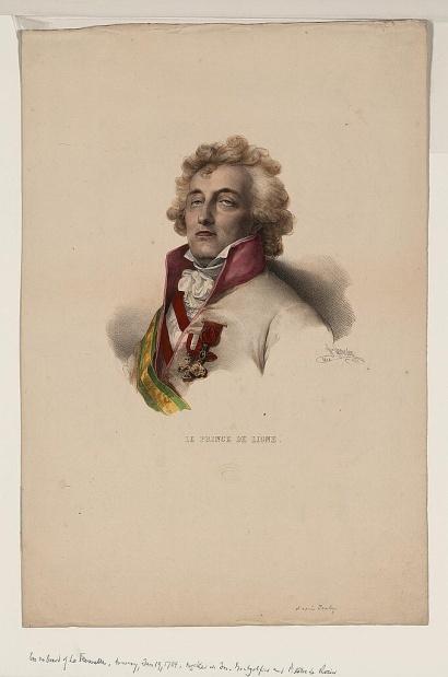 Le Prince Charles-Joseph de Ligne.