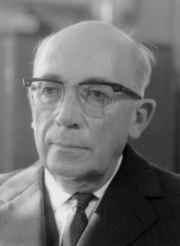 Edmond Léon Lahaye (1897-1982), Directeur de l'IRM de 1951 à 1962.