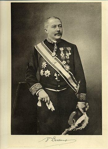 Edouard Descamps, ministre des Arts et des Sciences (1907-1910)
