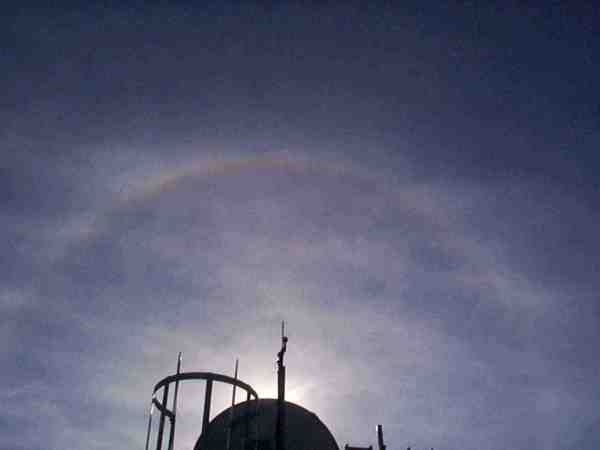 Photo d'un halo