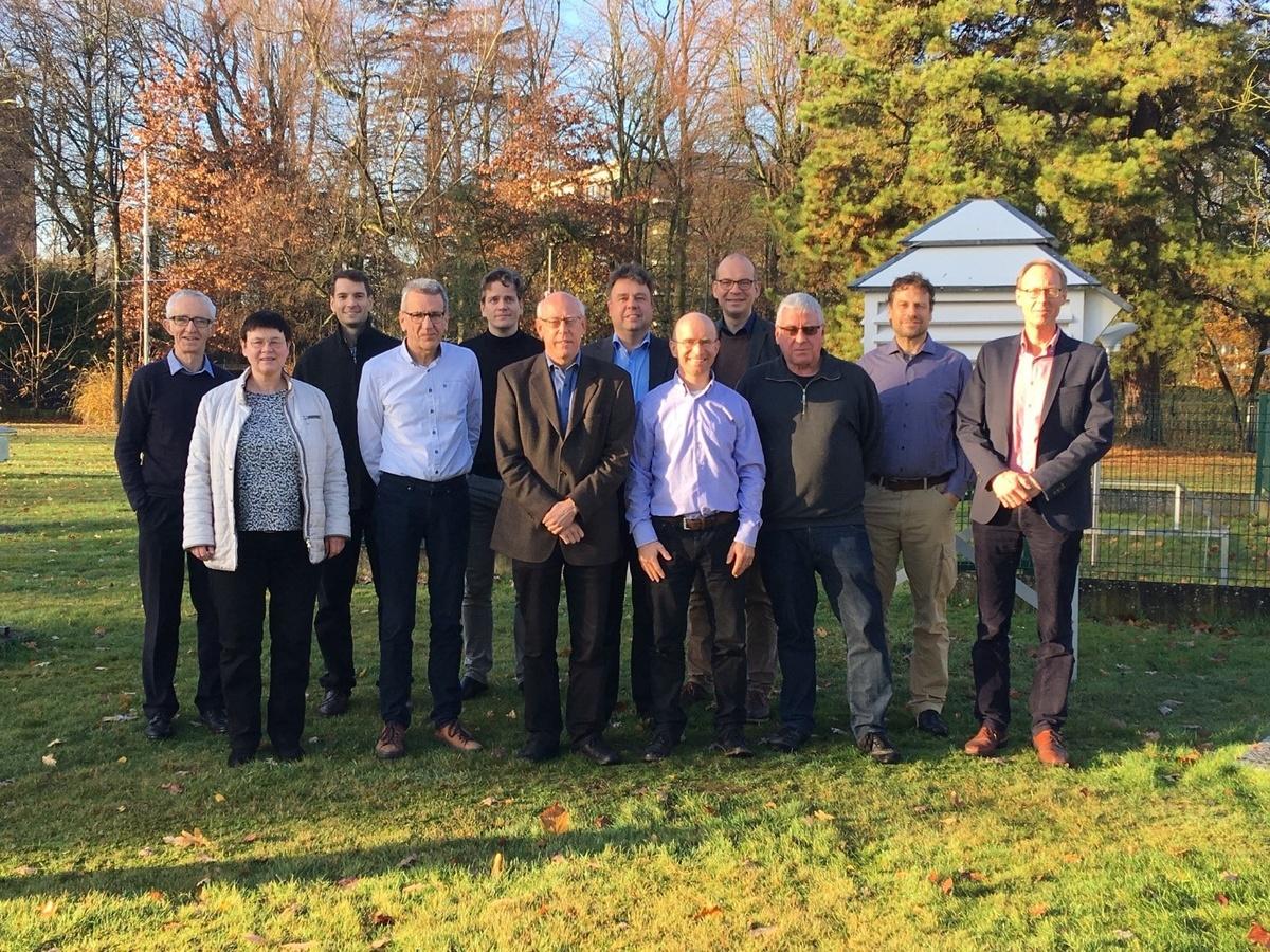Les participants à la 4e réunion du groupe de guidance du CM SAF.