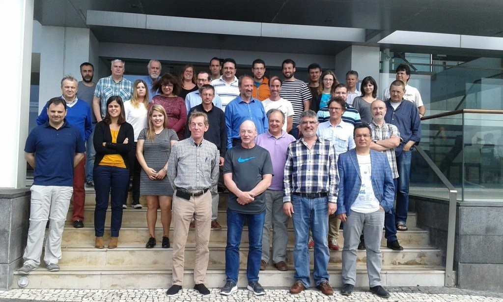 Figuur 3: Groepsfoto tijdens de Eubrewnet-workshop in Ponta Delgada (mei 2016)