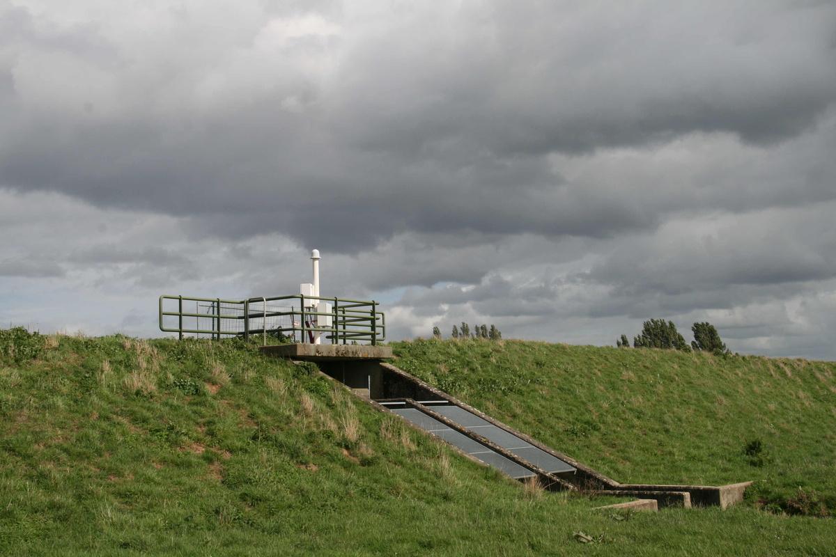 Le dernier capteur installé à Riemst, opérationnel depuis le 1er septembre 2017.