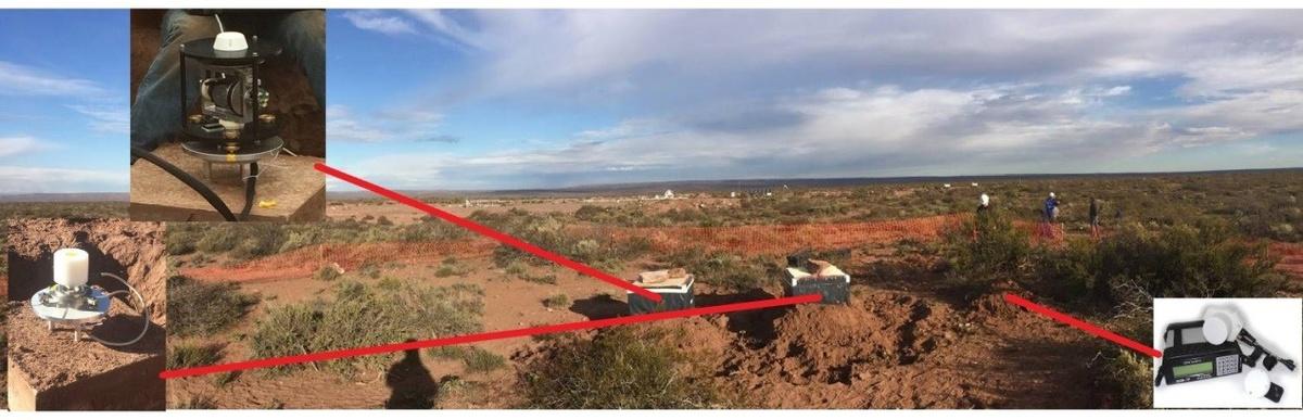 Het automatisch geomagnetisch observatorium van het KMI in Argentinië bestaat uit 3 geomagnetische instrumenten: een proton magnetometer, een vectoriële magnetomer en een Gyrodif, automatische DIFlux om de vectoriële calibratie te automatiseren). De verwerking van de gegeven is geautomatiseerd alsook de satelliettransmisse van gegevens in realtime tot het Geofysisch Centrum van het KMI.