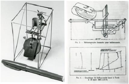 Météographe développé par Jules Jaumotte (1930).